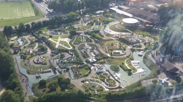 view of mini europe from the atomium
